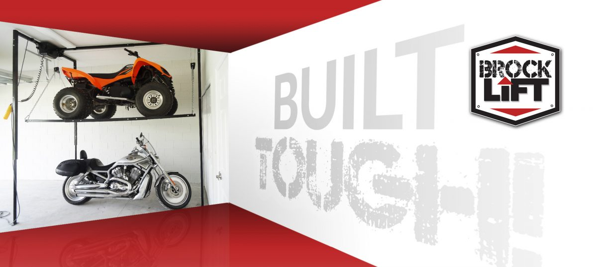 Brock Lift is Built Tough Garage Storage  sc 1 th 150 & Garage Storage Lift - ATV Storage - Motorcycle storage - Brock Lift LLC